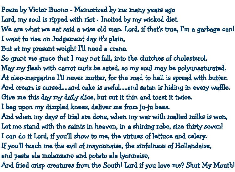 7 victor buono poem