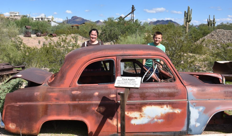 5 vulture city k me bryce mountains old car